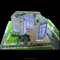 1:200 miniature property Sales scale Building model for land developer, Lighting Scale Model For Singapore Real Estate Company