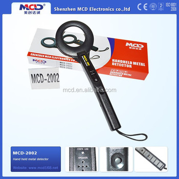 9V Fold Battery Hand Held Metal Detector