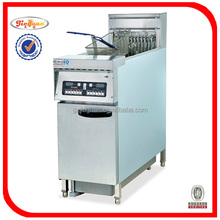 DF-30A KFC deep fryer machine with oil filter in guangzhou