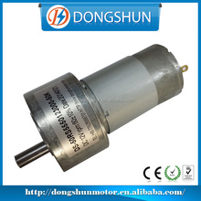 DS-50RS555 50mm high torque low rpm 24v dc electromotor gear motor with screw thread