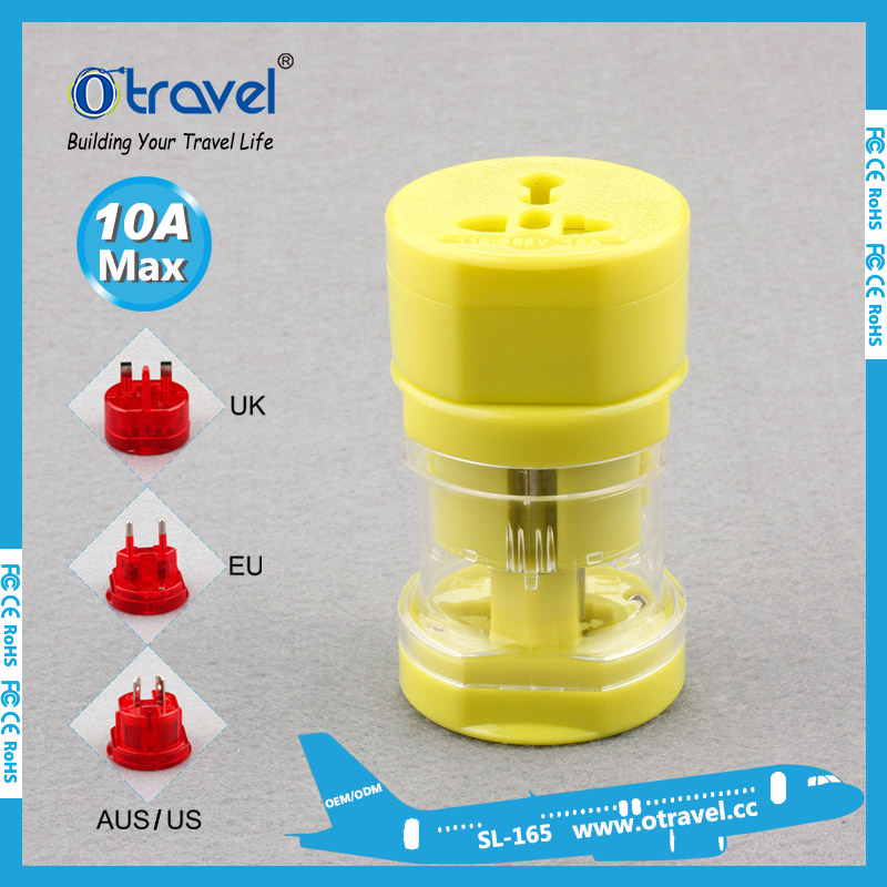 US EU AUS UK Electrical Plug AC 100-250V Universal Travel Home Wall <strong>Adapter</strong>