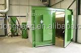OEM / ODM service available specially efficient sand blasting room for manual cleaning sand Blasting room/surface derust