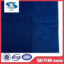 Cotton polyester spandex thin and light denim jeans fabric for supplier