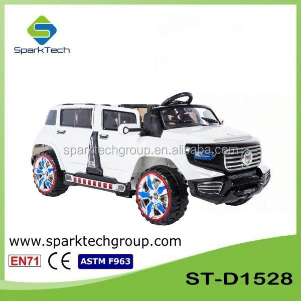 SparkTech Electric Car For Kids Two Seats, Control Toy Car, Children Electronic Toy Car ST-D1528