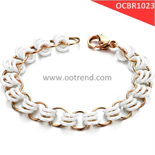 Brand New stainless steel and ceramic bracelets