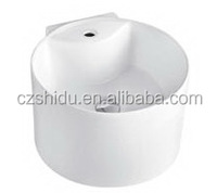 Simple Design Wash Basin Sink Round Countertop toilet basin combination