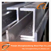 high quality structural steel channel / steel u channels / steel channel prices