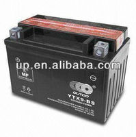 Motorcycle MF Battery, with 12V/3Ah Capacity