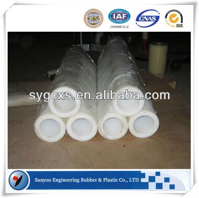 Wear resistant plastic hdpe roll pipe