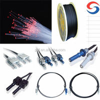 Pmma 1.0/1.5/2.0mm diameter plastic optic fiber wide used in toslink/ avago /most/sma/ tocp connector /date communication