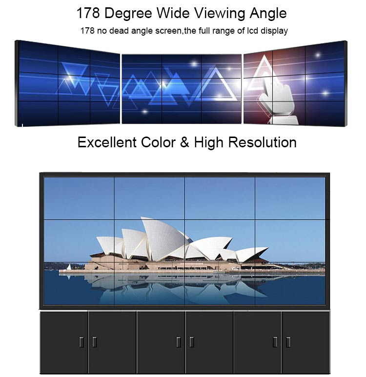fhd lcd tv wall monitor