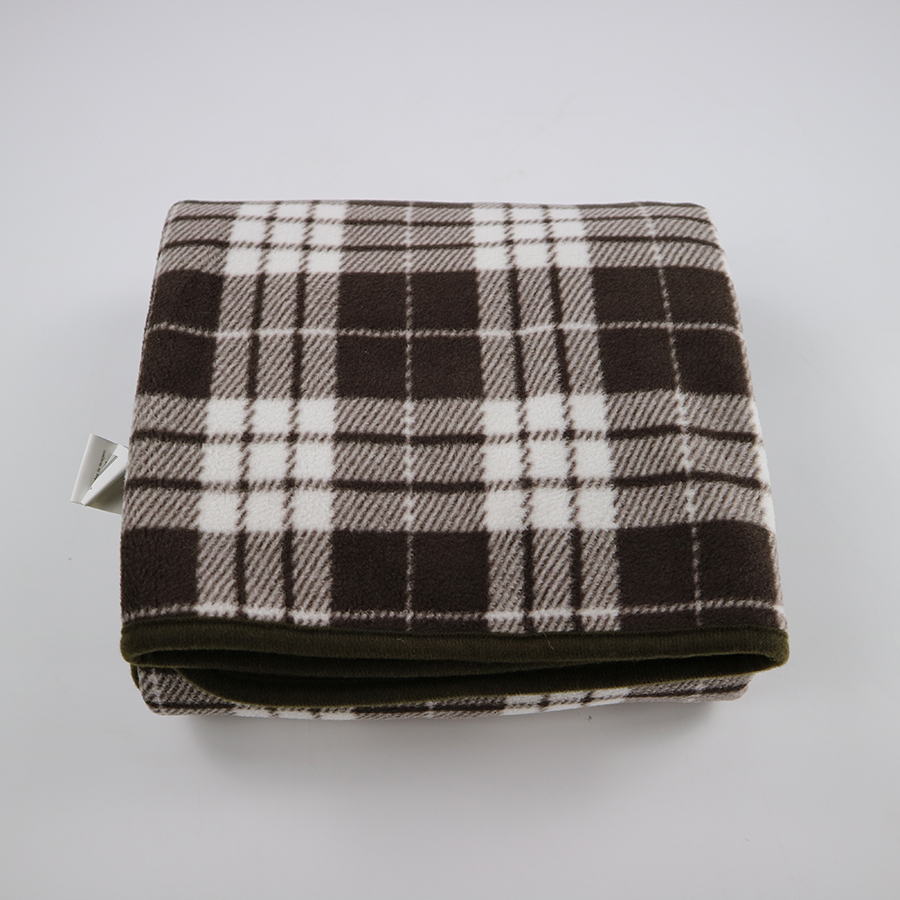 hot 2017 new style best wool sherpa plaid blanket scarf