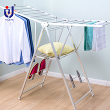 YLT-0530 wall mounted coat garment rack for clothes drying