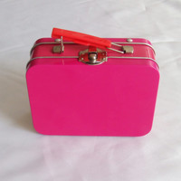 lunch metal box with handle and lock for kids