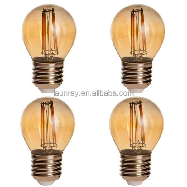 LED Dimmable Filament Bulb G45 G50 2W 4W Retro Global Lamp 20w 40w Tungsten lamp replacement