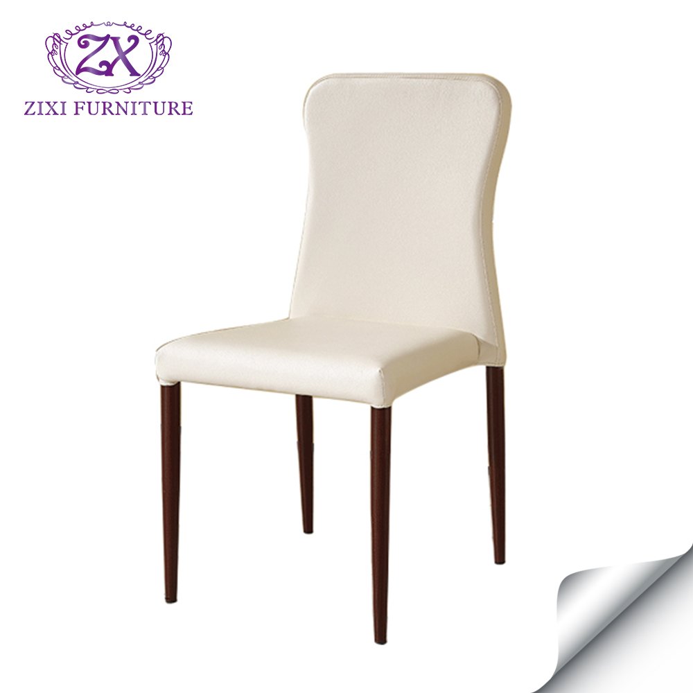 Wholesale modern replica high quality iron steel dining chairs