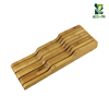 Bamboo Knife Block Compact Storage for up to 11 Knives