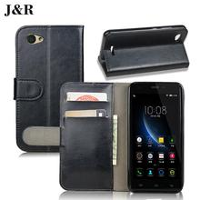 J&R Brand Luxury PU Leather Flip Case For Nokia Lumia 520 N520 Vertical Magnetic Flip Cover High Quality free shipping