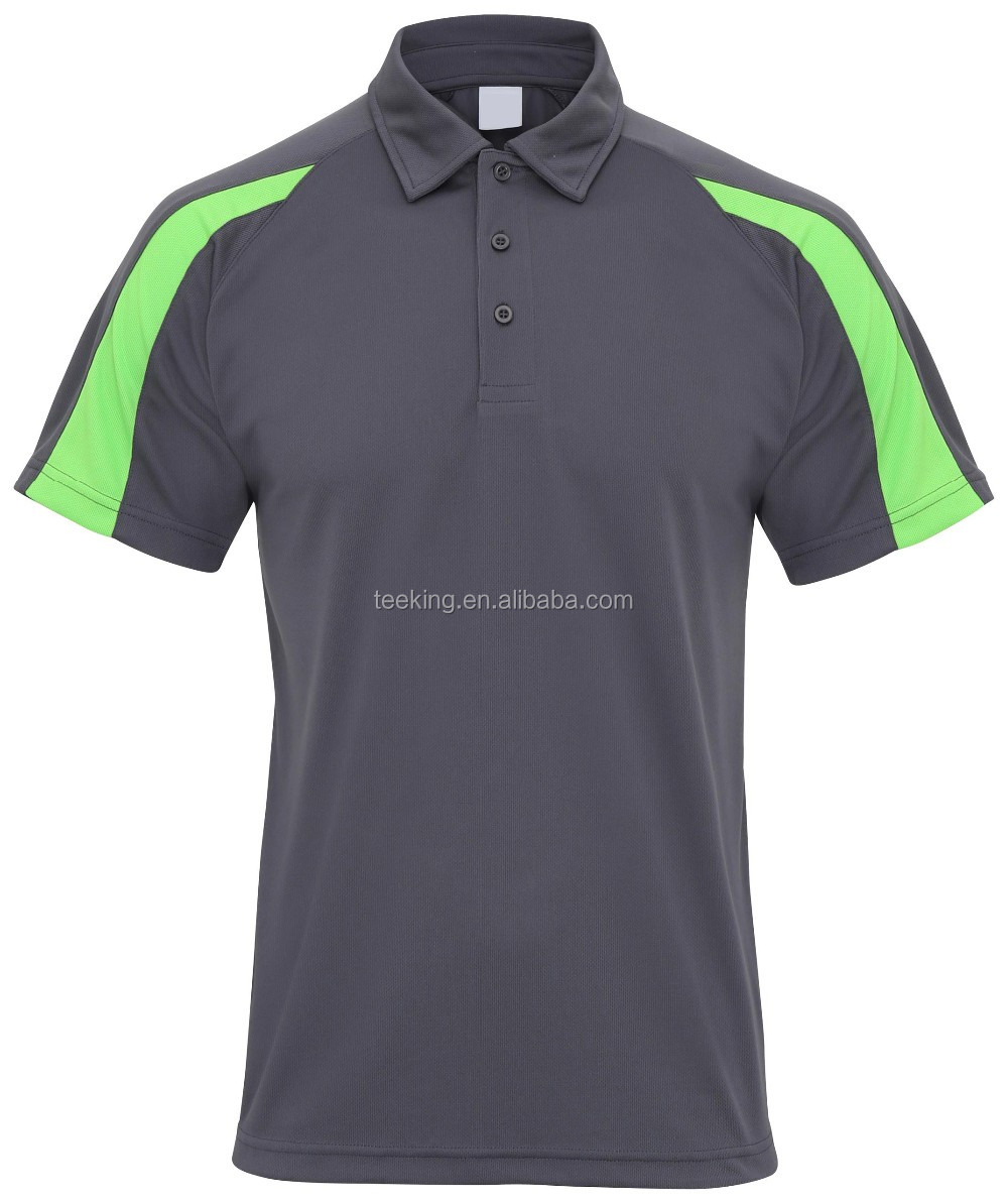 Color combination dry fit polo shirt design view color for Polo shirt color combination
