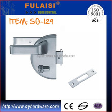 SUS304 HALF ROUND CENTRAL LOCK WITH SINGE SIDE KEY AND HANDLE