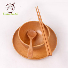 Fancy Christmas Bamboo Wood custom hotel luxury breakfast dinnerware <strong>plates</strong> sets in wholesale