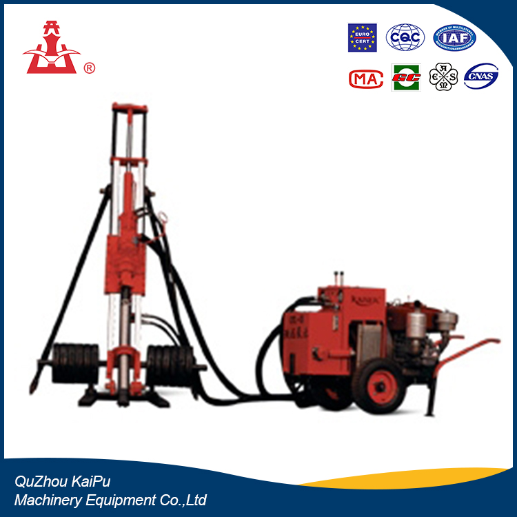KAISHAN brand hot sale Rock drill machine KQY90 Hydraulic & Pneumatic down the hole drill bits