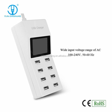 shenzhen mobile phone accessories,universal 8 ports wall socket usb charger