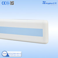Fabricate Handrail And Railing PVC Plastic Hospital Hallway Protection Handrail