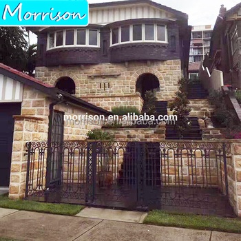 Sell well new type decorative wrought iron gates