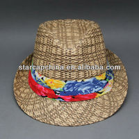 FASHION CHEAP FEDORA HATS/PAPER STRAW HATS