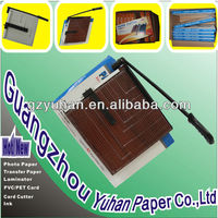 2014 hot sell manual wood paper cutter