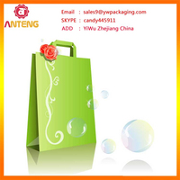customized High quality Printed bag with brown paper