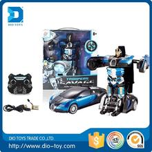 2016 top quality rc car transform robot toy best-selling rc car transform robot toy trans-robot car
