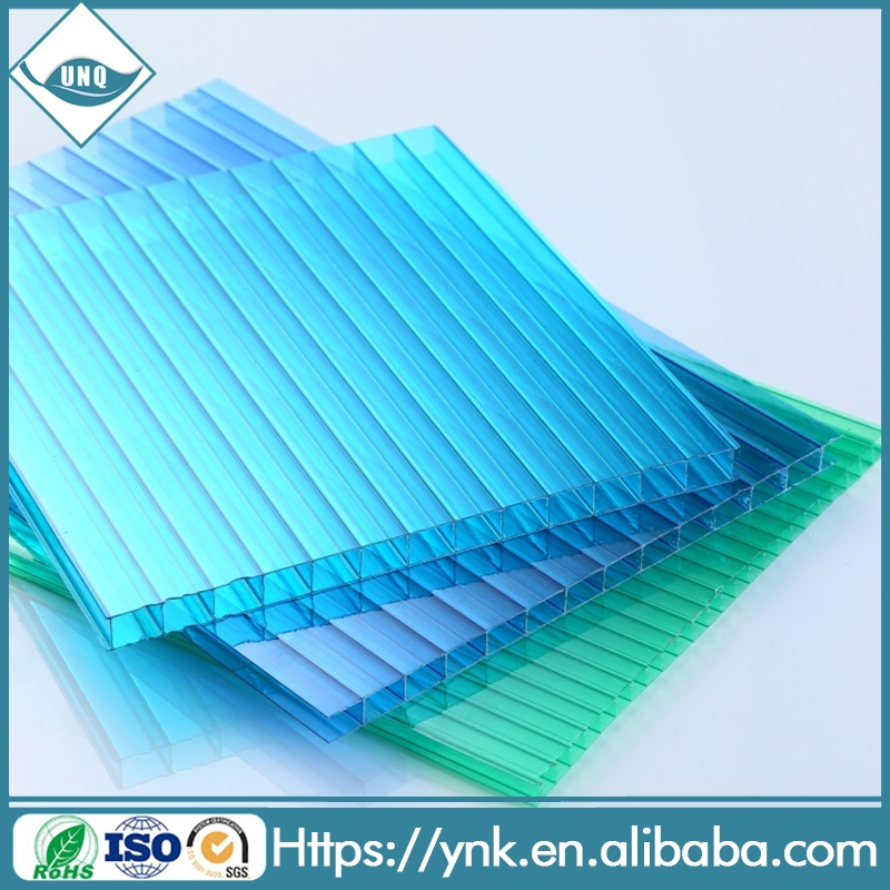 polycarbonate hollow sheet solar heating for greenhouse