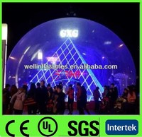 2014 big inflatable clear dome tent for exhibition