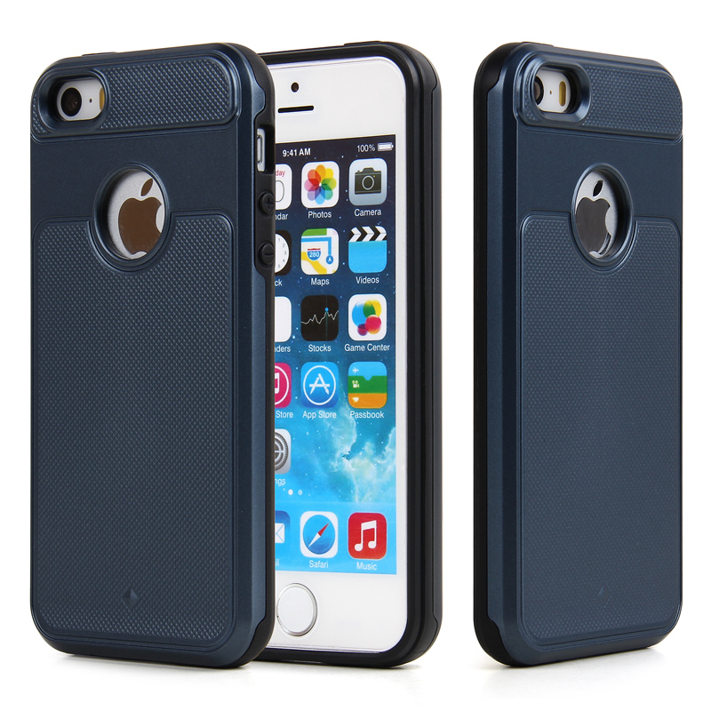 TPU PC 2 in 1 phone case shockproof mobile phone case for iphone5s