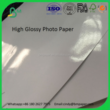 High glossy photo paper one sided coated for inkjet printing