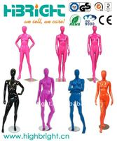 Nicole Colorful High Glossy Abstract Female Mannequins