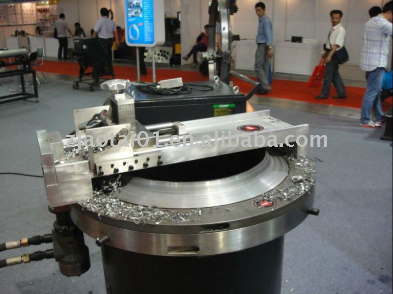 Flange Facing Machine for facing raised and flat face flanges