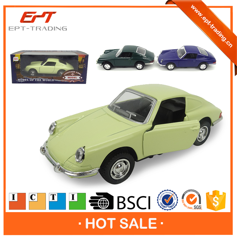 Wholesale small old toy car models alloy toy diecast model car with ICTI
