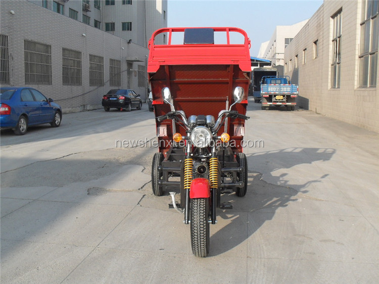 EEC High Quality Factory Price 250cc Three Wheel Motorcycle Chinese Gas Cargo Tricycle