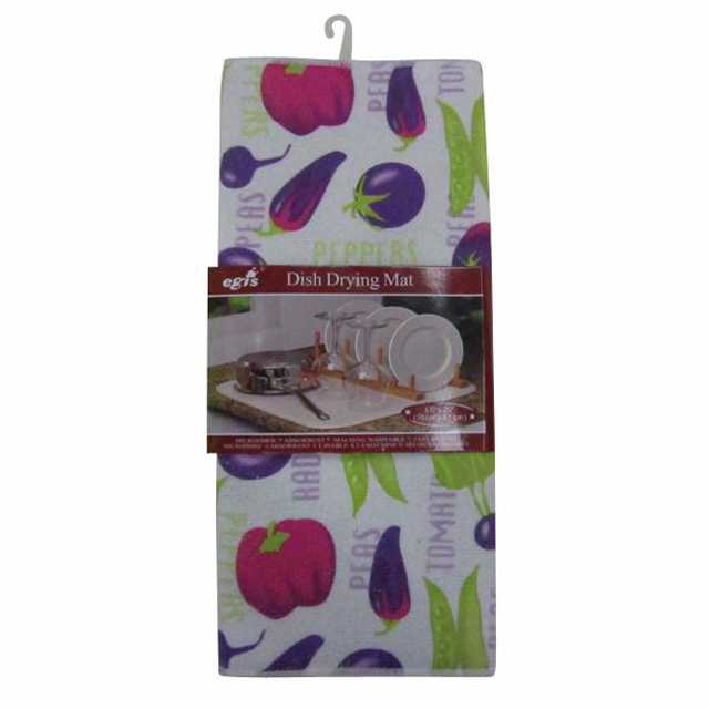 Popular kitchen shop dish drying towel set wholesale