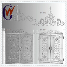 House indoor metal main gate and stair railing design