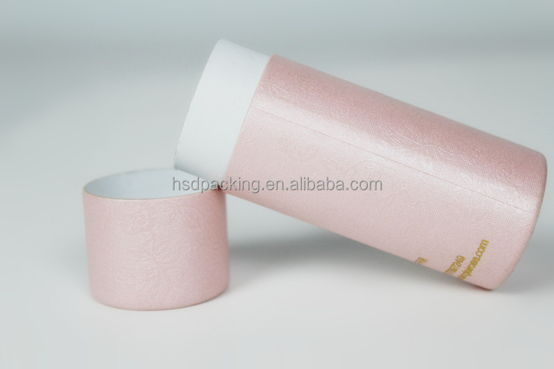 Eco friendly brown kraft paper tube paper core paper for Kraft paper craft tubes