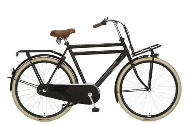 28inch traditional bicycle with front cargo 28 retro city. Black Bedroom Furniture Sets. Home Design Ideas