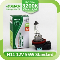 XENCN H11 12V 55W 3200K Clear Series Original Car Headlight OEM Quality Halogen Bulb Auto Fog EMARK DOT Lamps