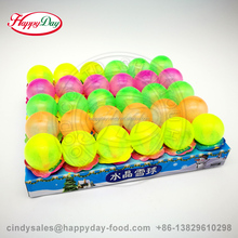 HAPPYDAY CRYSTAL BALL STICK CANDY WITH FRUIT POWDER