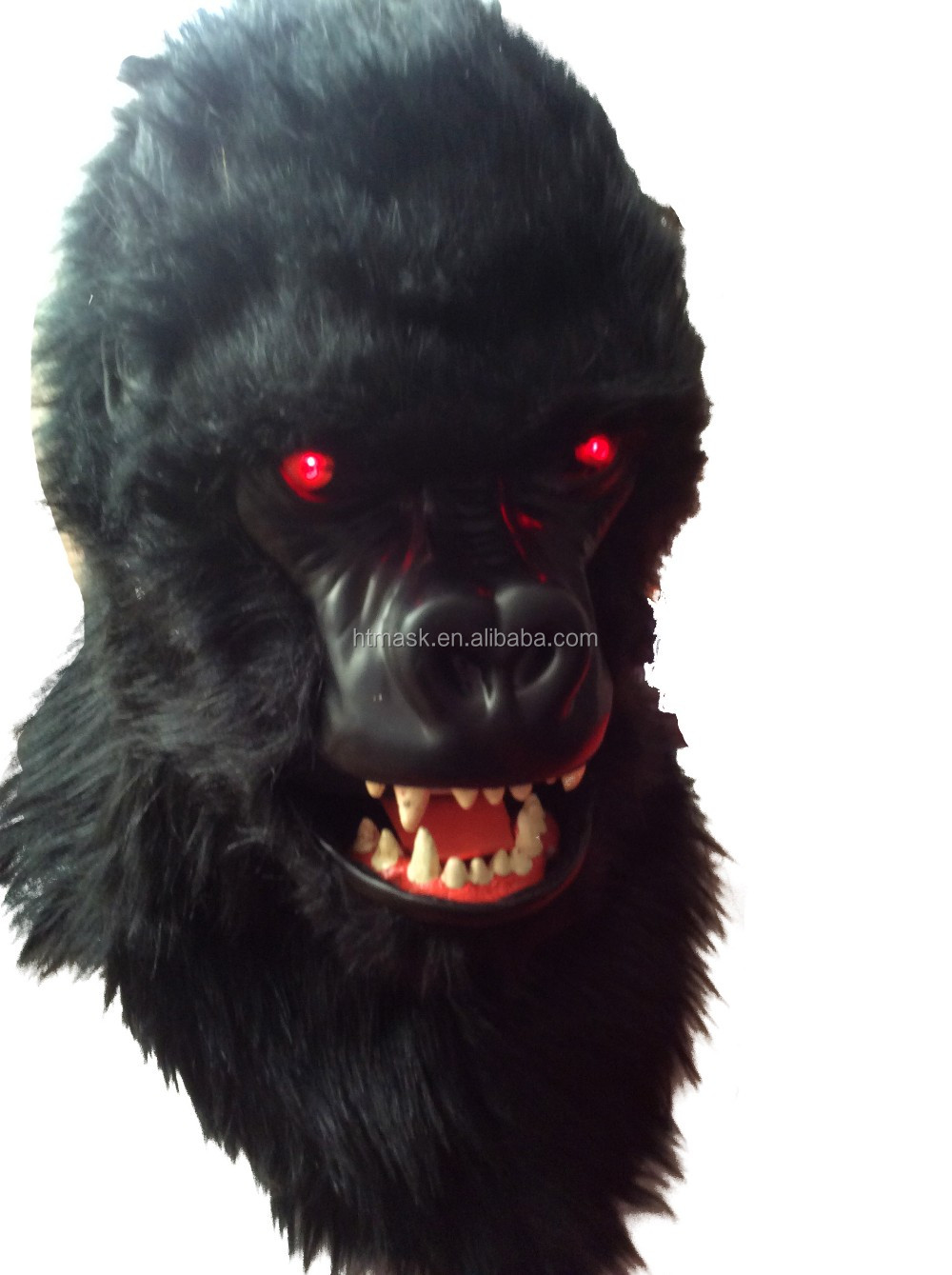 Horror Scary Gorilla Animal Masquerade Latex Mask Black black mouse mask