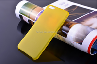 0.3mm super thin pp toughness matt case for iphone6,accept customize design