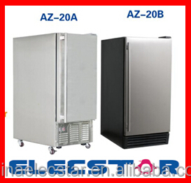 Built-in outdoor Ice Maker with 12kg Storage Capacity, 25kg Clear Cube Ice Production, outdoor Ice making machine 01
